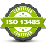 Medical Device Engineering Certification ISO 13485 batch